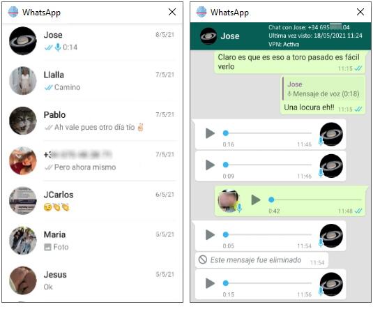 chat de whatsapp espiado por espiar movil nu9
